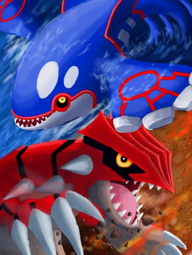 Countdowns top 10 hoenn pok mon - Pictures of groudon and kyogre ...