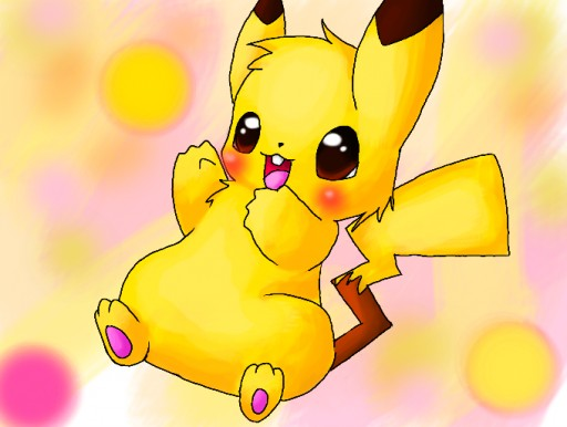 Colors Live Cute Baby Pikachu By Bizzybee