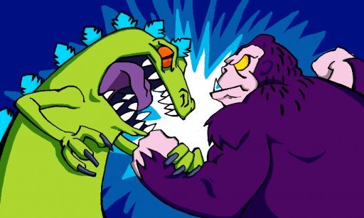 Reptar Vs King Kong