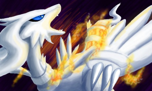 Reshiram by Nipsu