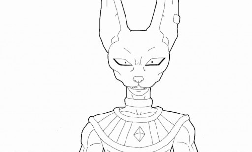 Colors Live Lord Beerus By Immortal Avenger