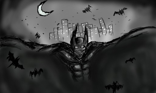 the nightmare of batman by goreskt