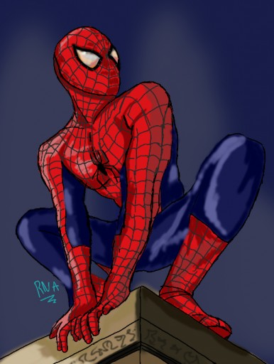 Spiderman by Turtle_Swag