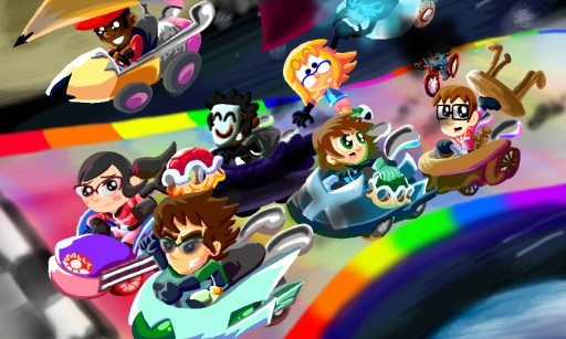 Mii Kart by STComic