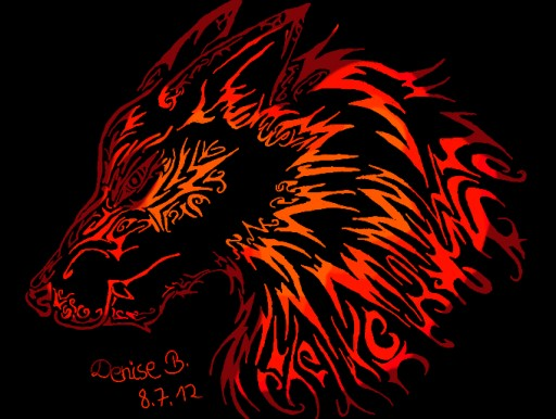 Wolf by Death Note Shinigami