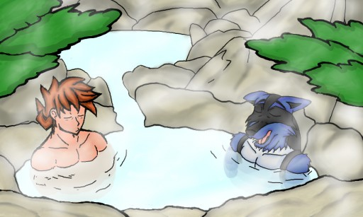 Poke Hot Springs by ToaEnemis