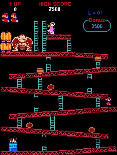 3D Classic: Donkey Kong by Game Over