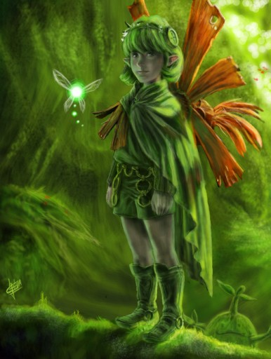 Saria the guardian of forest by Klausboss