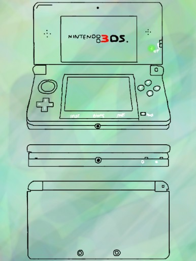 3ds template
