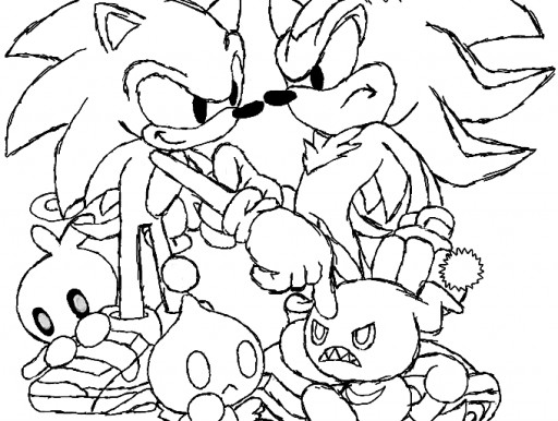 Sonic 2 Coloring Pages - Kidsuki