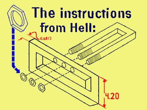 The Instructions From Hell by sharpman