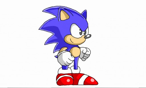 hd sonic 3 sprite thingy