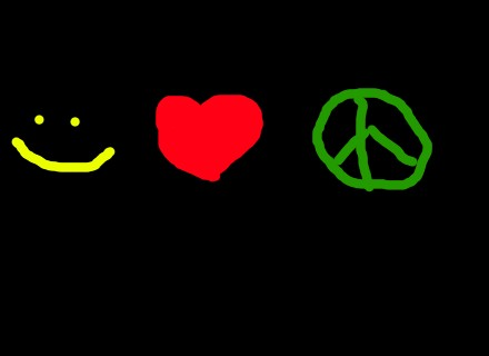 smile love peace by Dancersb2