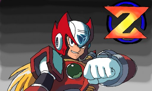 Megaman Zero :D by Im gay 8--D<-