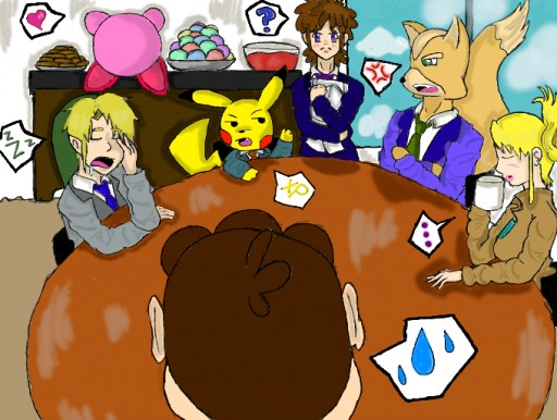 Nintendo Executives Meeting by Kikicat :3