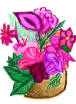 Flower Basket by Beloved