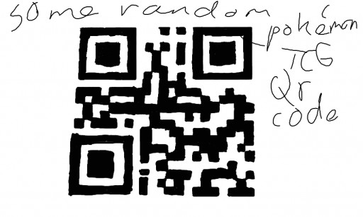 qr Codes Pokemon Some Random Pokemon Tcg qr