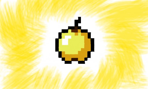 Minecraft Golden Apple Wallpaper MINECRAFT GOLDEN APPLE