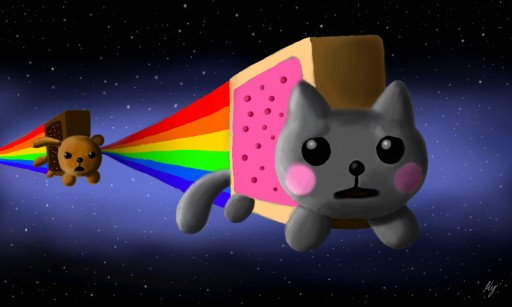 Nyan Cat And Taco Dog Nyan Cat vs Wan Dog by Weapon