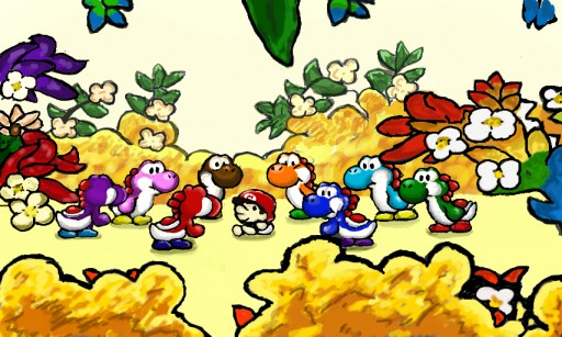 yoshi gathering by john in 3D