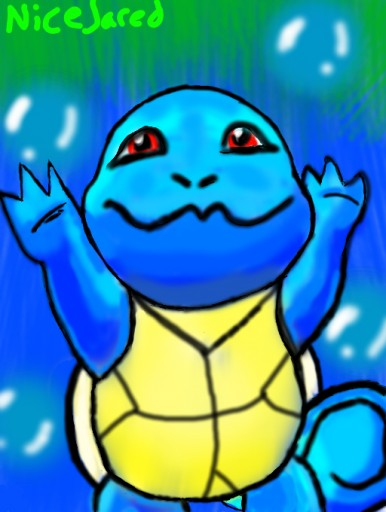 Squirtle by NiceJared