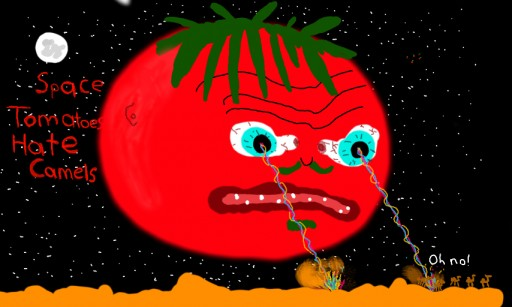 Space Tomatoes HATE Camels by Jammo