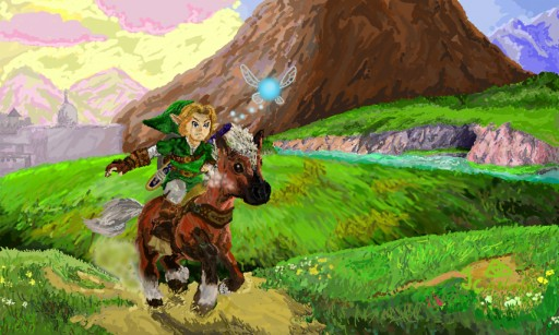 Hyrule Field by The Hylian Hero
