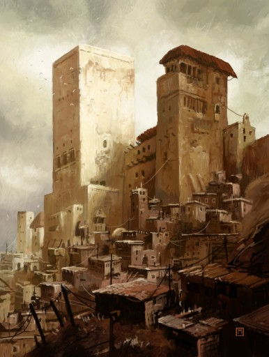 Bedouin punk: Shanty Towers (alternate) by Munin