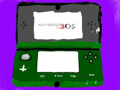 Nintendo 3DS by NintendoBoi