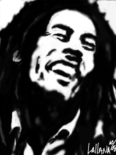 "bob""THE LEGEND"" marley by ohjefrox247"
