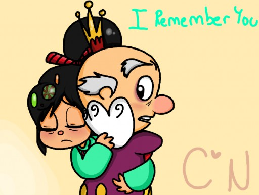 Vanellope & King Candy Vanellope And King Candy
