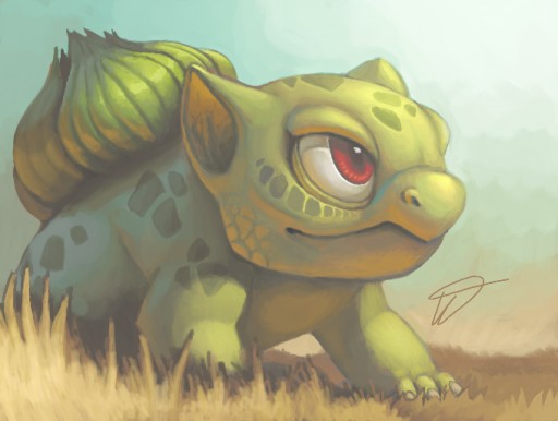 Bulbasaur by Twarda