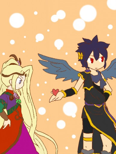 Dark Pit and Viridi