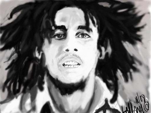 EARLY BOB MARLEY by ohjefrox247