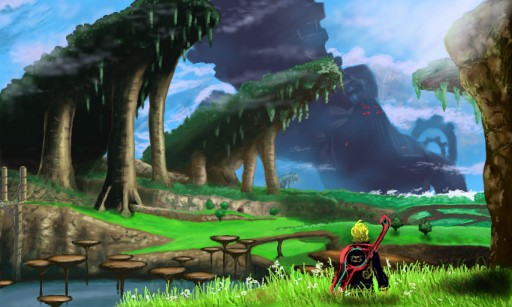 Xenoblade - Raguel Lake by Jayccarl01