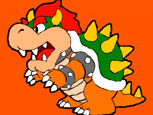 Paper Bowser by ShyGuy274