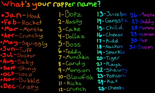 Whats Your Rapper Name | Male Models Picture