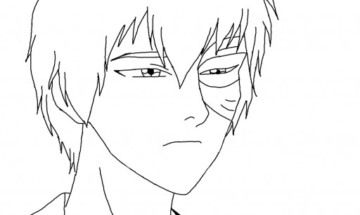Colors Live Prince Zuko Coloring Sheet By