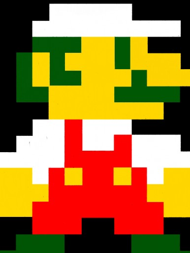 Colors live 8 bit fire mario by johnboy1000 - Pictures of 8 bit mario ...