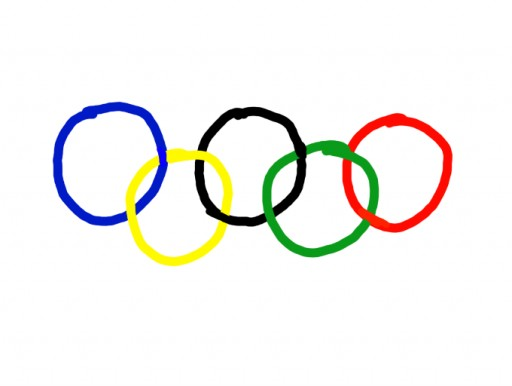 Olympics Flag by Fisher