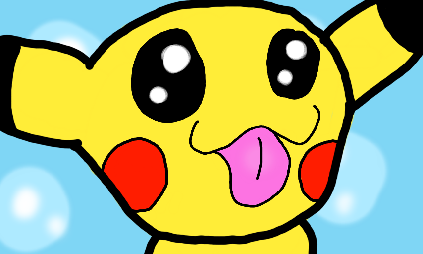Derpy pikachu by downwithcis