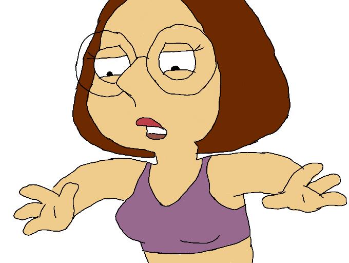 Meg griffin cartoon bikini