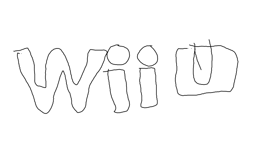 Wii U coloring page