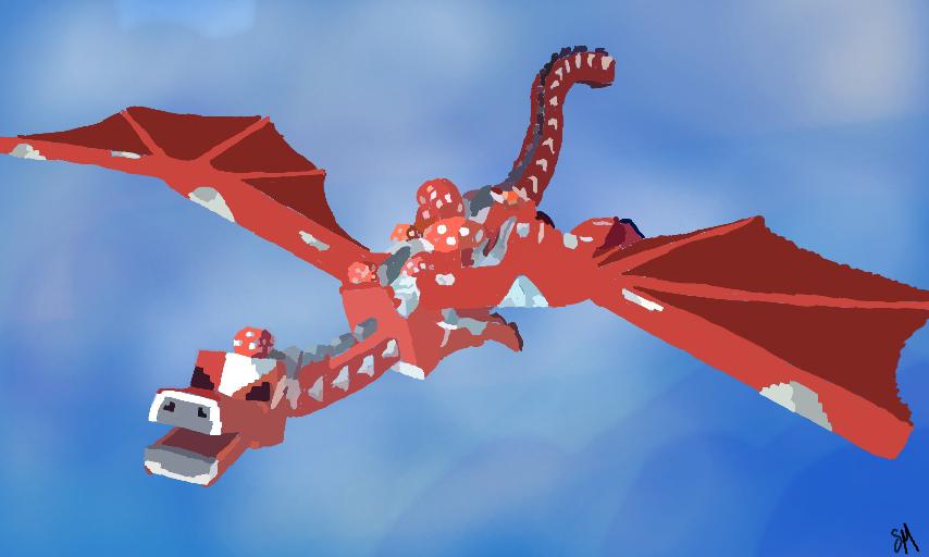Mooshroom Dragon