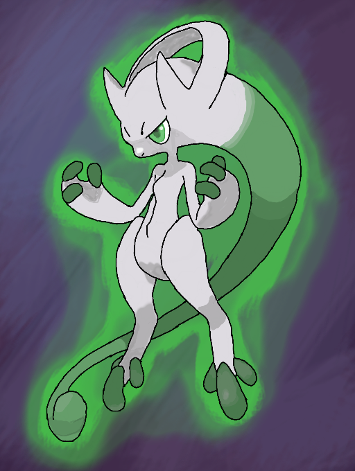 Colors! Live - Shiny Mega Mewtwo Y by Zanthor