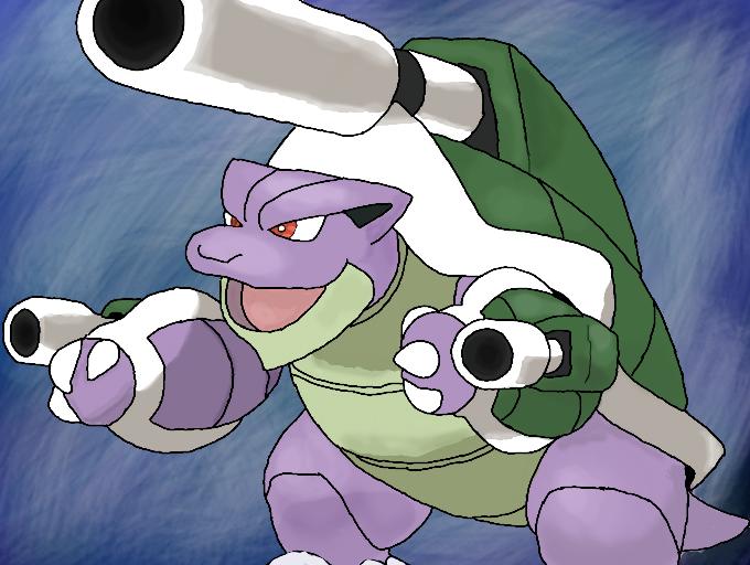 Shiny mega blastoise - Pokemon tortank mega evolution ...