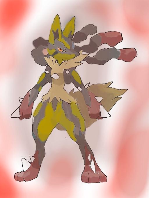 pokemon x and y mega evolved mega lucario shiny