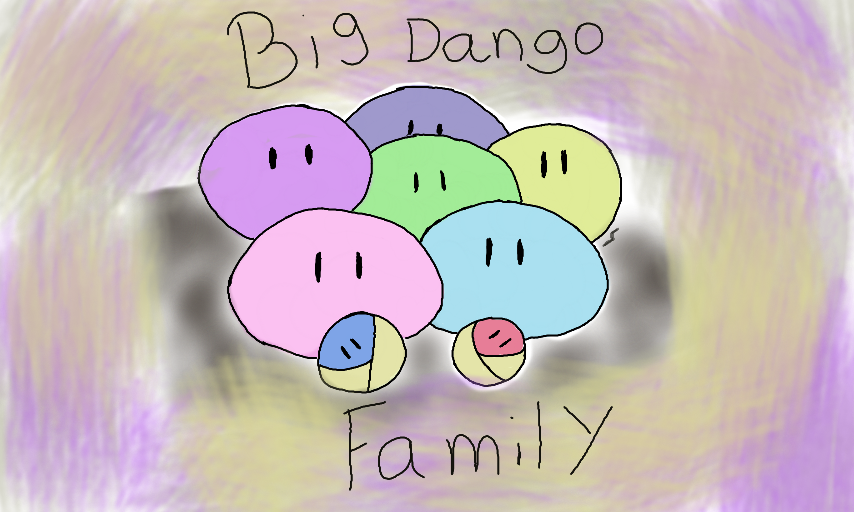 Colors Live Big Dango Family By Pikagirl2009
