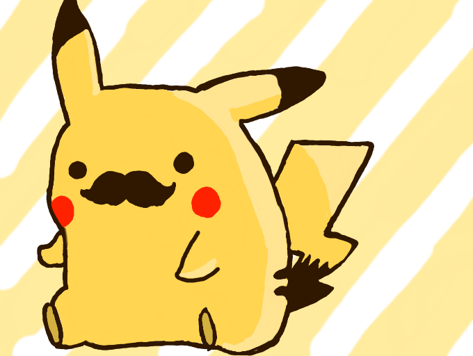 Colors Live Pikachu Mustache By Beemo