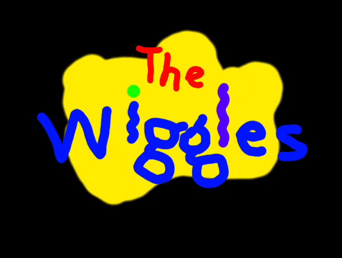 Colors Live The Wiggles Logo In 3d By Mrsean64
